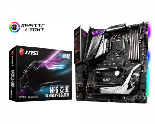 MSI MPG Z390 Gaming Pro Carbon LGA 1151 Intel Motherboard